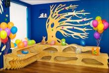 Проведение детского дня рождения в Детских гостиных Loskuti-Pati
