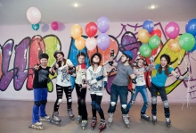 День рождения в Школе роллеров Roller Pride